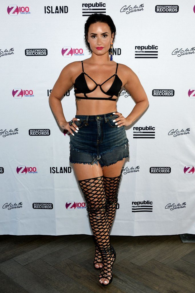 Demi Lovato Undergarment Images