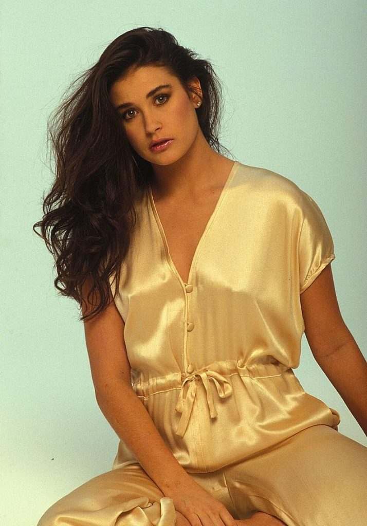 Demi Moore Hair Style Images