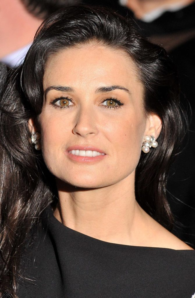 Demi Moore Smile Face Images