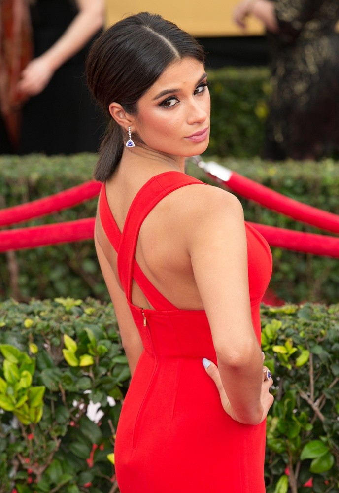 Diane Guerrero Backless Photos