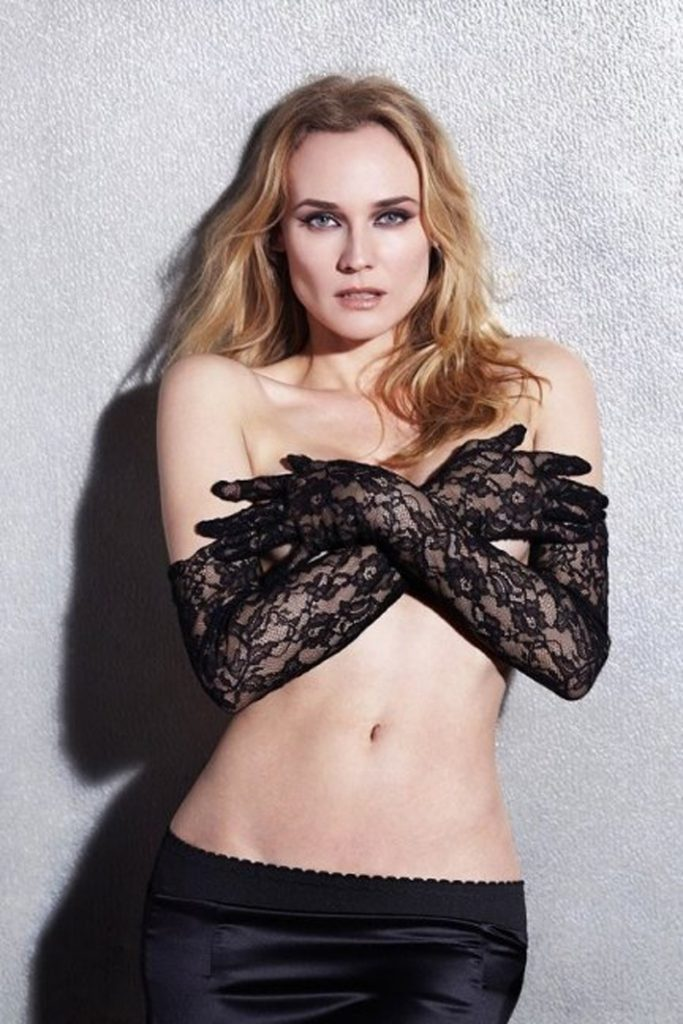 Diane Kruger Without Bra Pictures