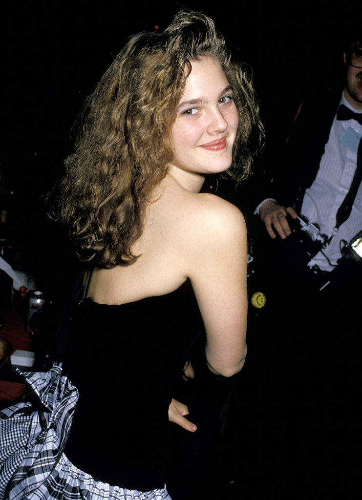 Drew Barrymore Backless Pics