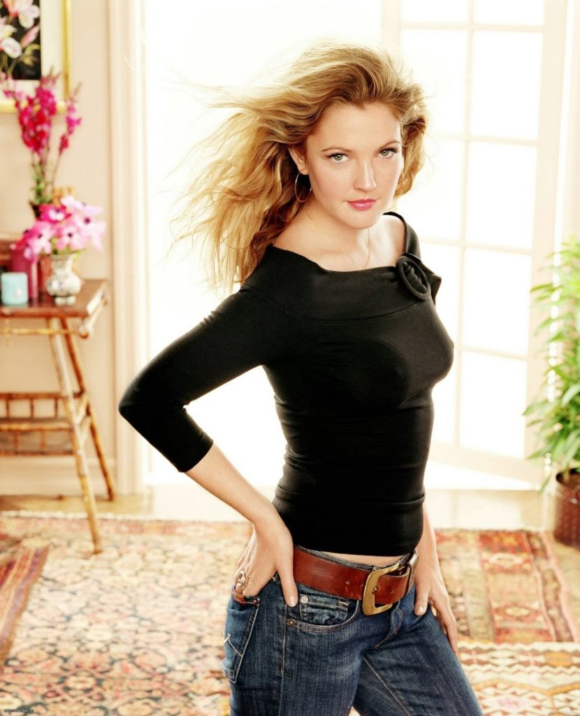 Drew Barrymore Jeans Images
