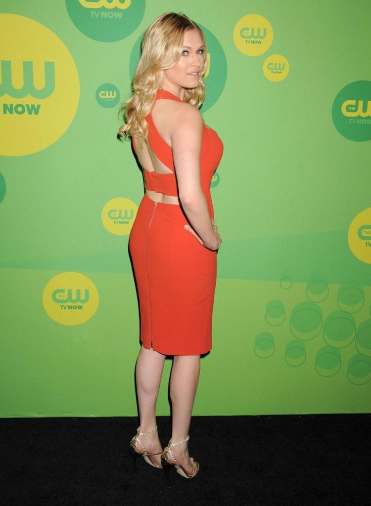 Eliza Taylor Backless Images
