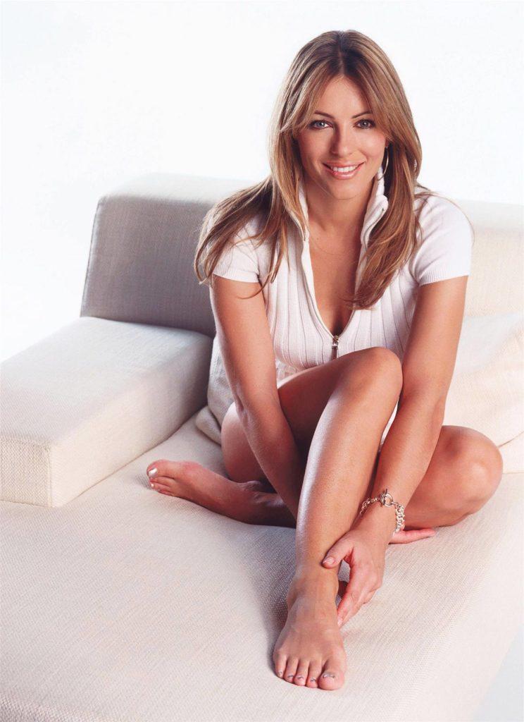 Elizabeth Hurley Feet Images