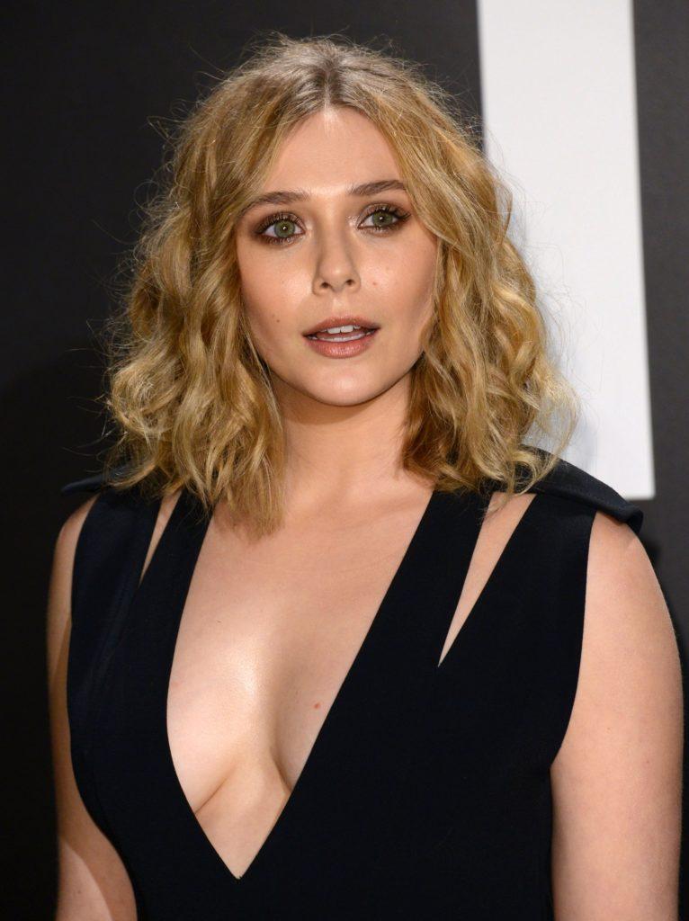 Elizabeth Olsen Boobs Images