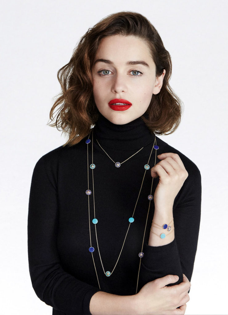 Emilia Clarke Makeup Photos