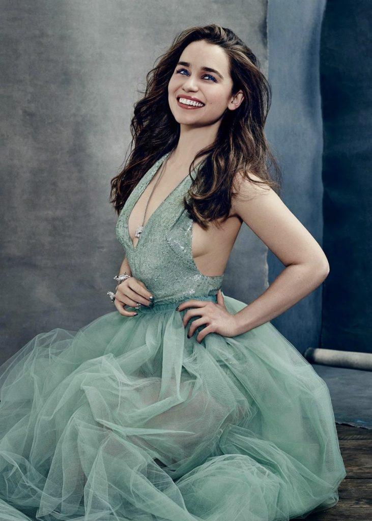 Emilia Clarke Muscles Images