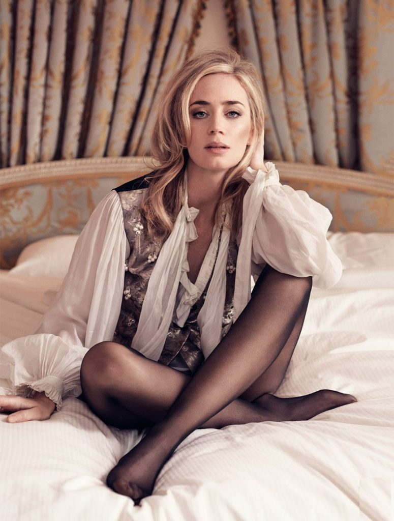Emily Blunt Shorts Photos