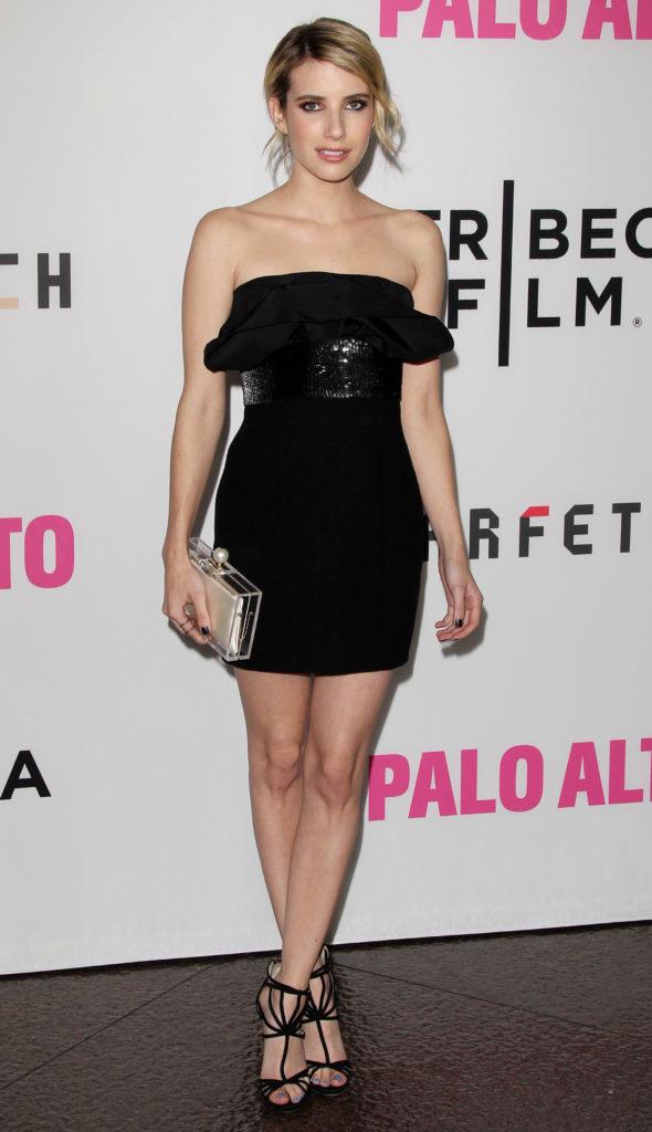 Emma Roberts High Heals Wallpapers