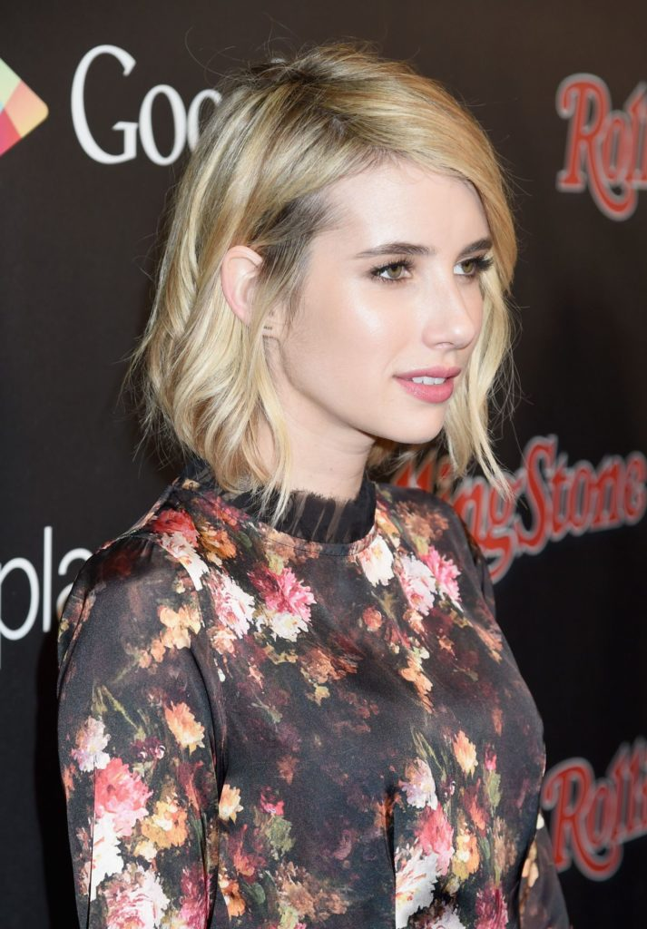 Emma Roberts Short Hair Wallpapers