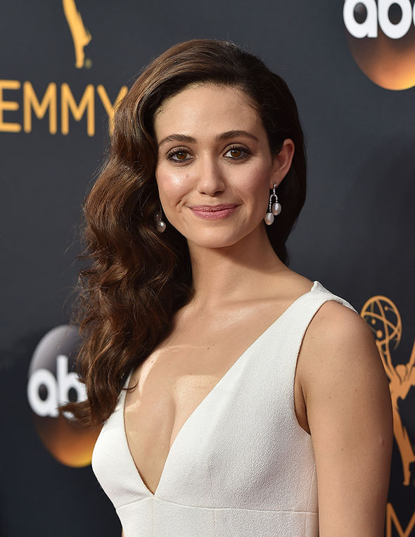 Emmy Rossum Braless Images