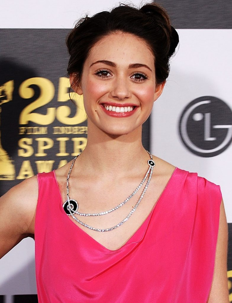 Emmy Rossum Hair Style Photos