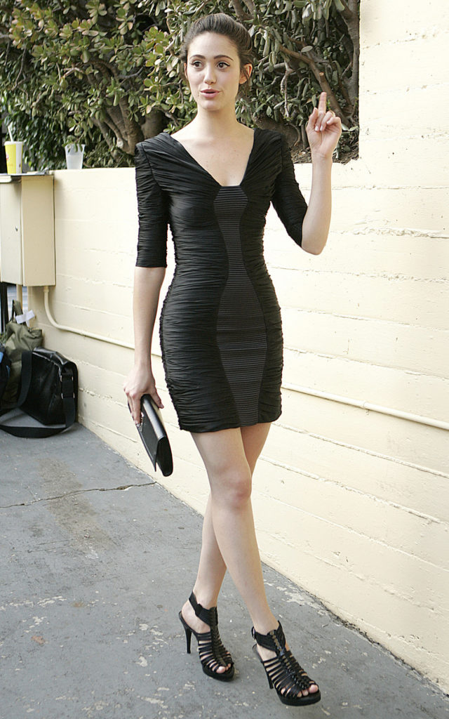 Emmy Rossum Legs Photos