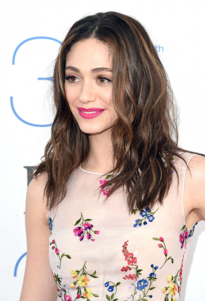 Emmy Rossum Smile Face Pics