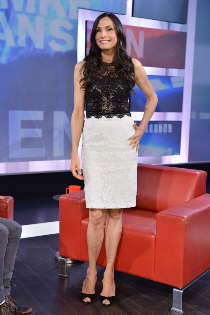 Famke Janssen At Television Show Images