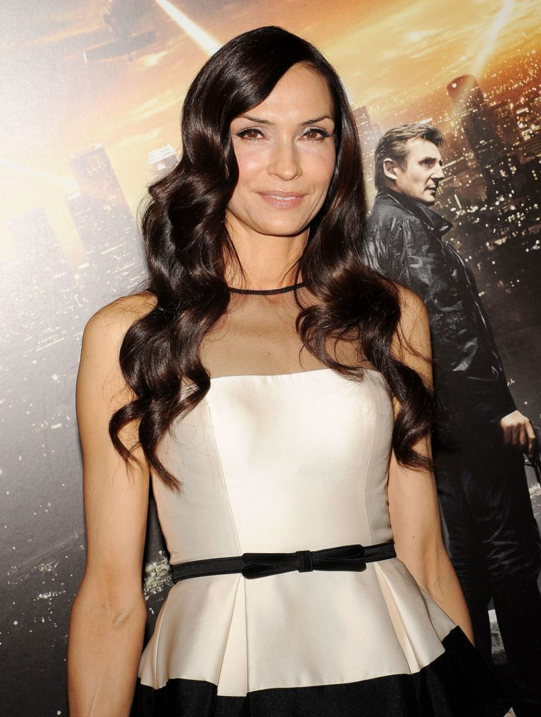 Famke Janssen Sexy Eyes Wallpapers