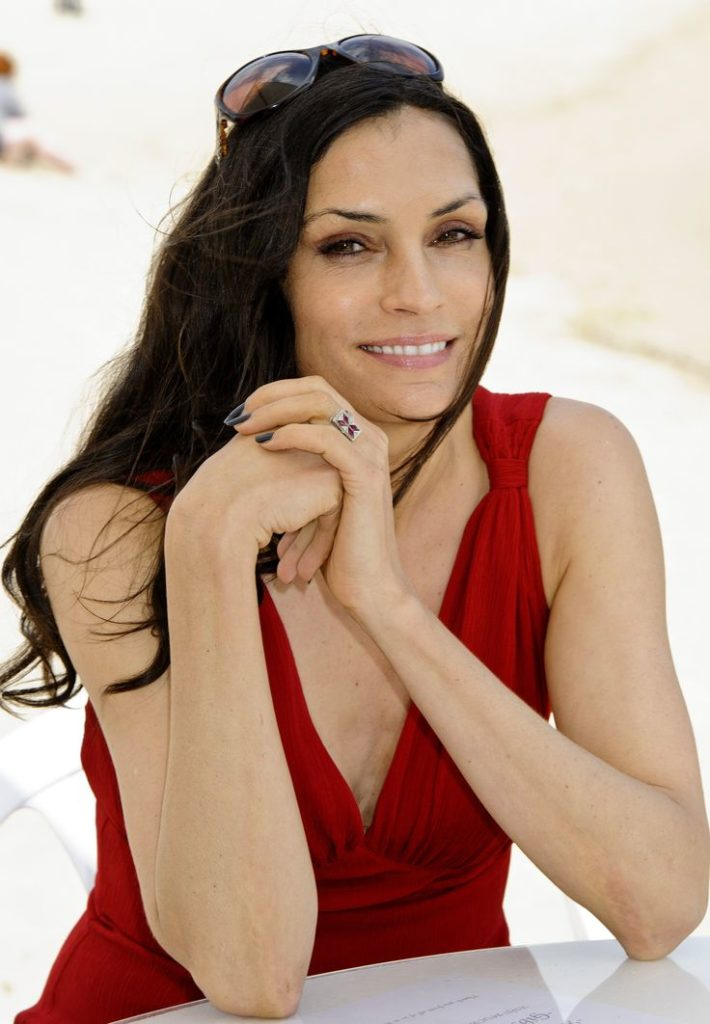 Famke Janssen Smile Face Pictures