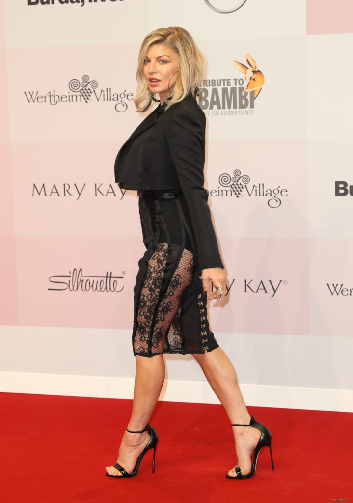 Fergie Feet Images