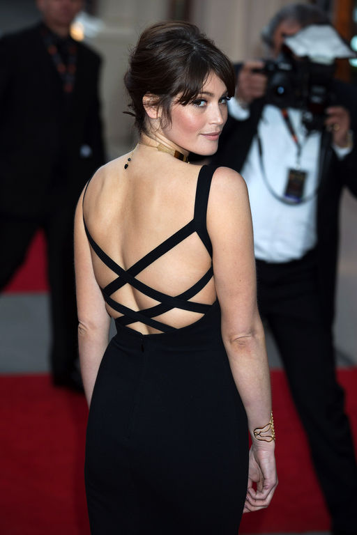 Gemma Arterton Backless Images
