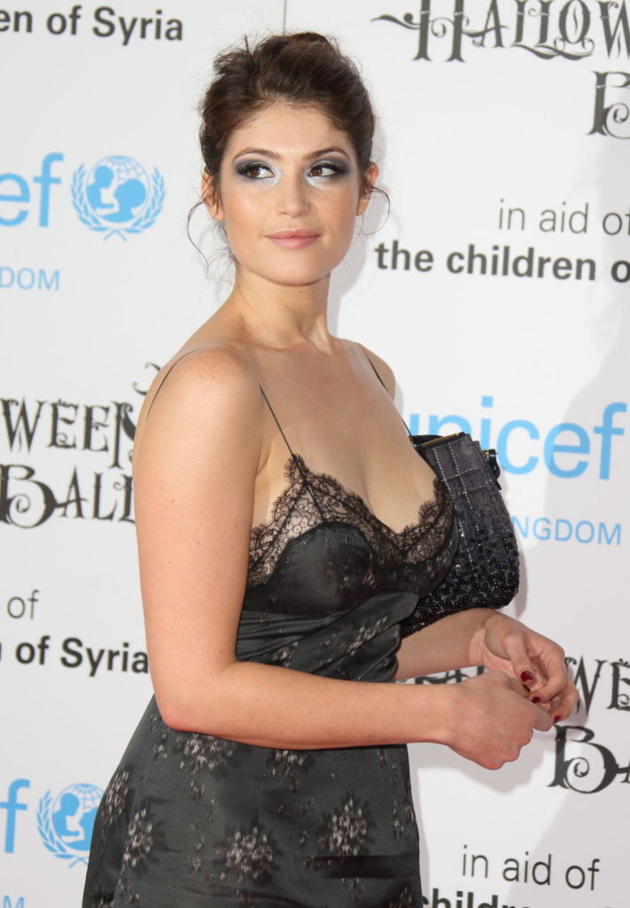 Gemma Arterton Braless Photos