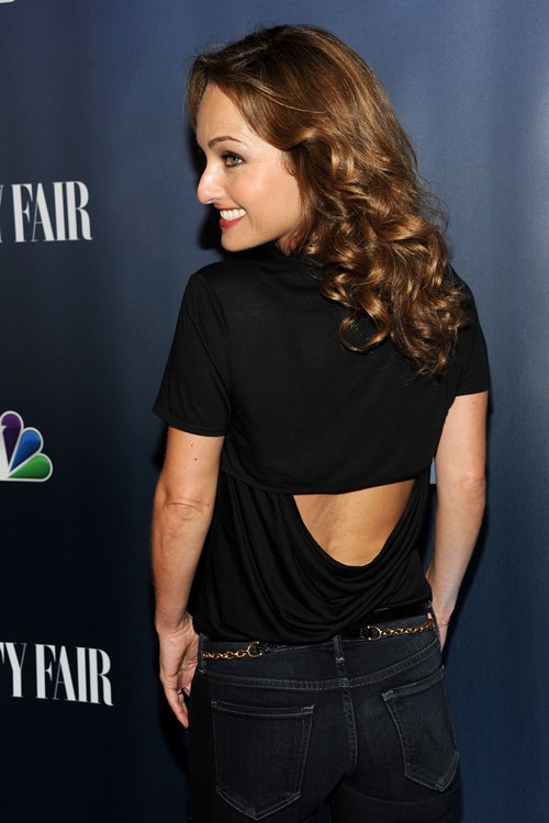 Giada De Laurentiis Backless Images