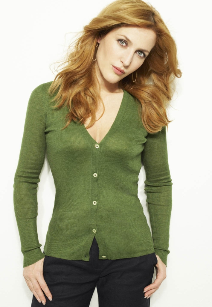 Gillian Anderson Jeans Wallpapers
