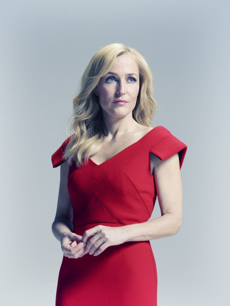 Gillian Anderson Makeup Pictures