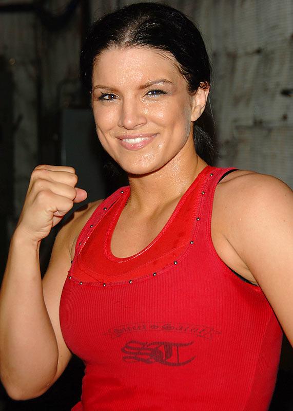 Gina Carano Muscles Images
