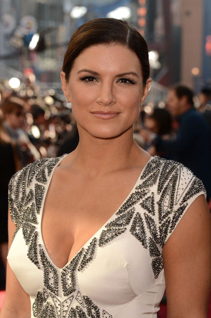 Gina Carano Topless Photos