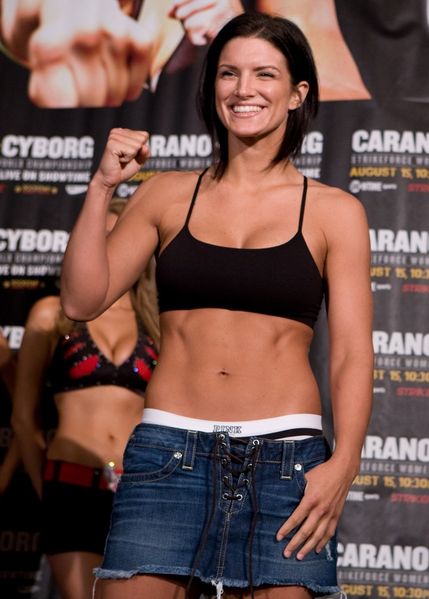 Gina Carano Undergarments photos