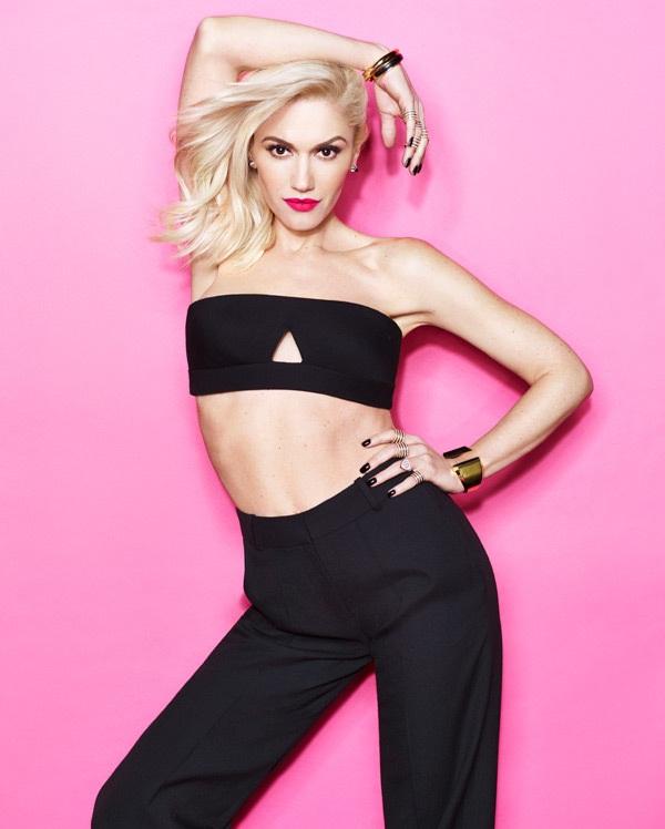 Gwen Stefani Bra Panty Photos
