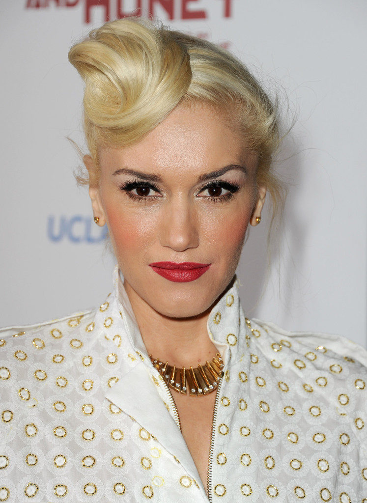 Gwen Stefani Bun Images