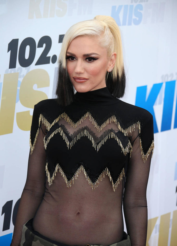 Gwen Stefani Navel Images
