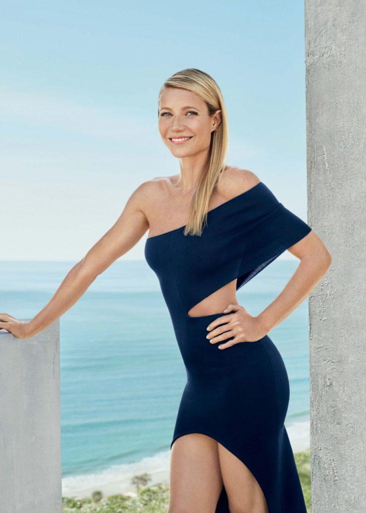 Gwyneth Paltrow Beach Pics In Shorts