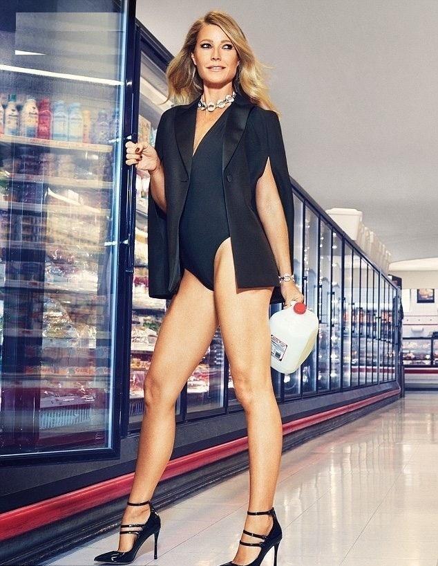 Gwyneth Paltrow Thigh Images
