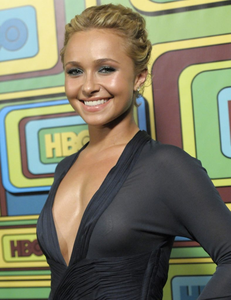 Hayden Panettiere Topless Wallpapers