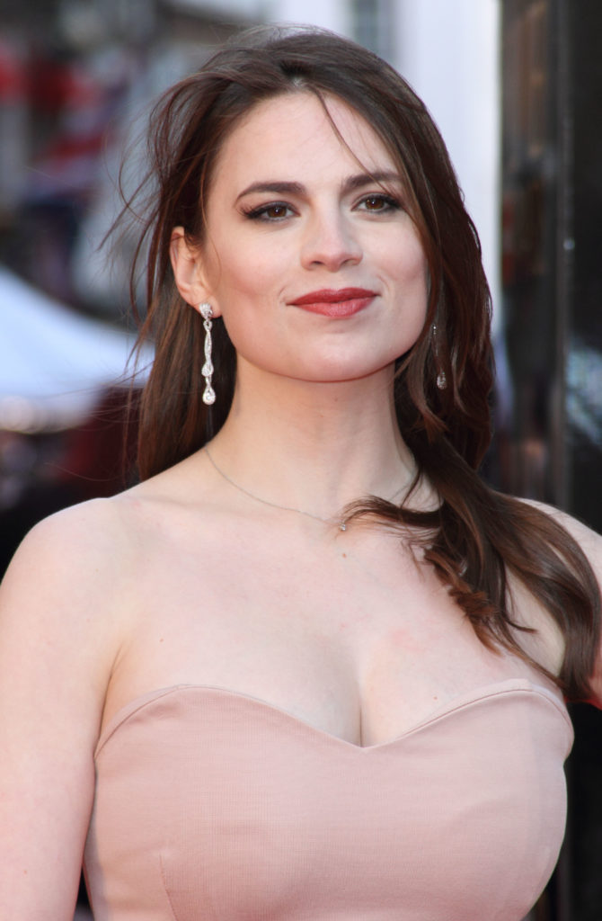 Hayley Atwell Braless Photos