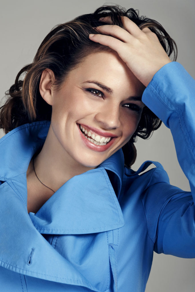 Hayley Atwell Smile Face Pics