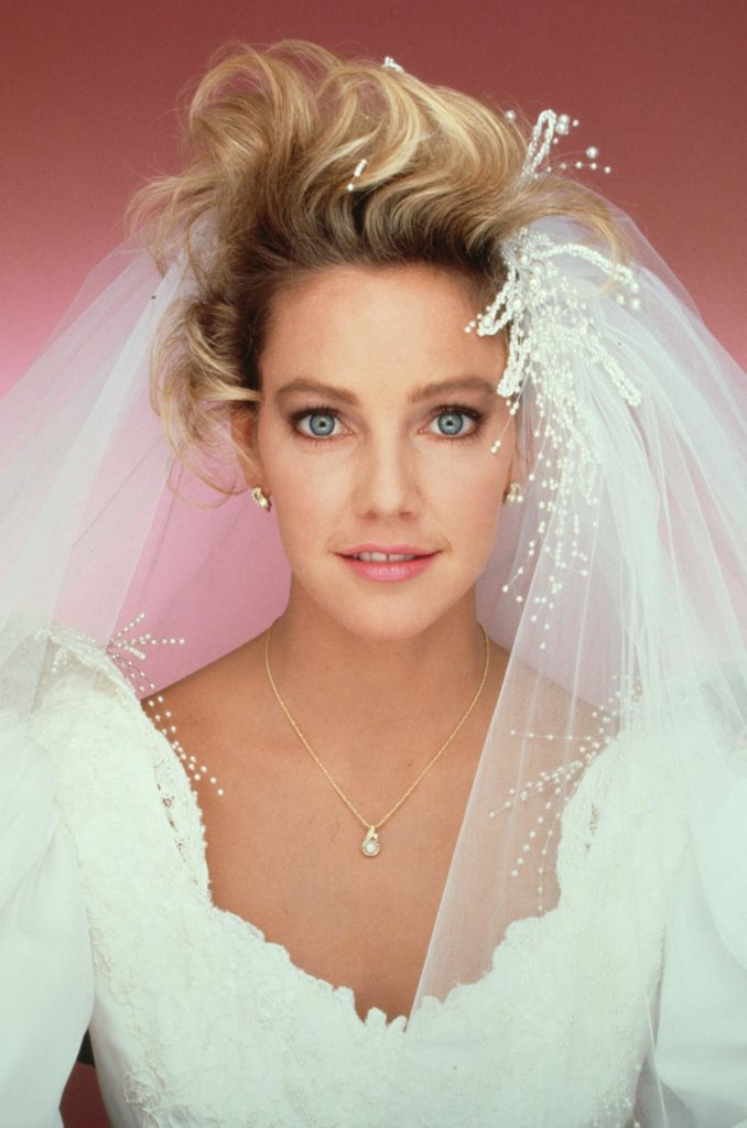 Heather Locklear Wedding Look Images