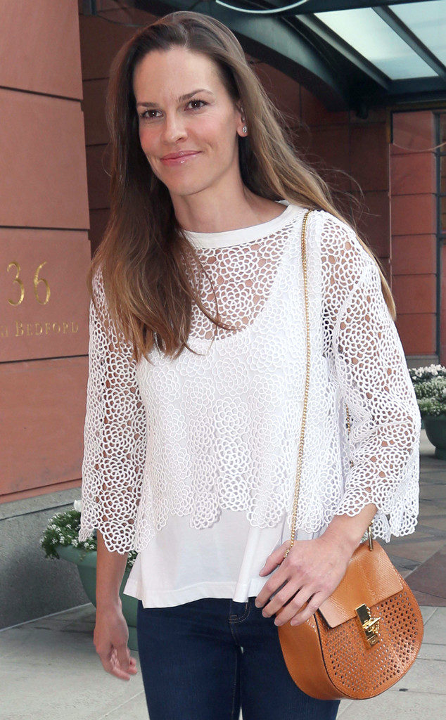 Hilary Swank Jeans Images