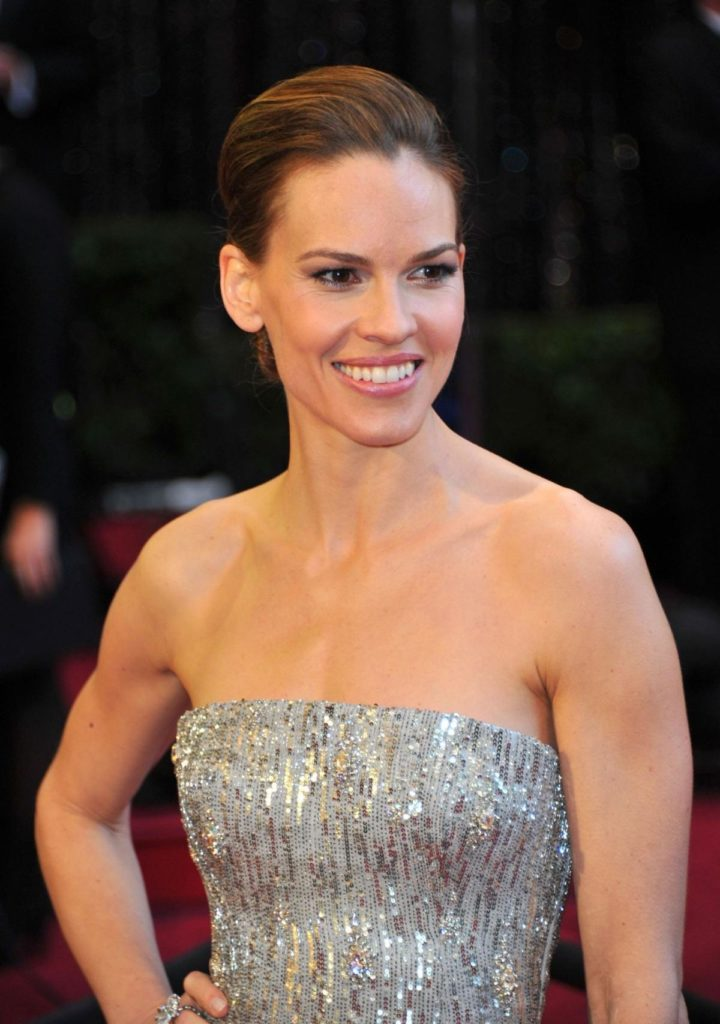 Hilary Swank Topless images