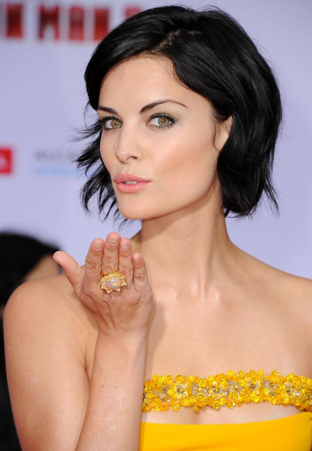 Jaimie Alexander Flying Kiss Images