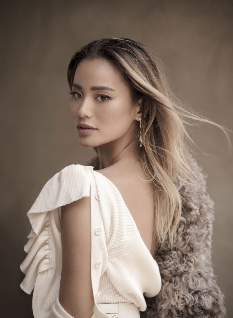 Jamie Chung Backless Photos
