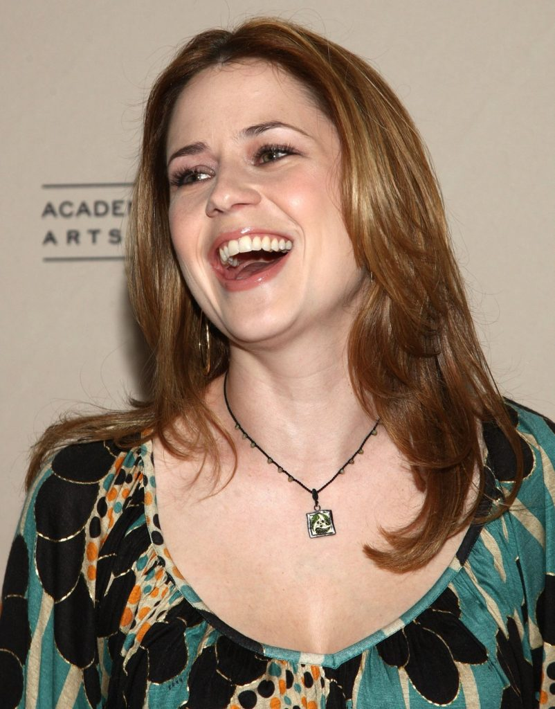 Jenna Fischer Smile Wallpapers