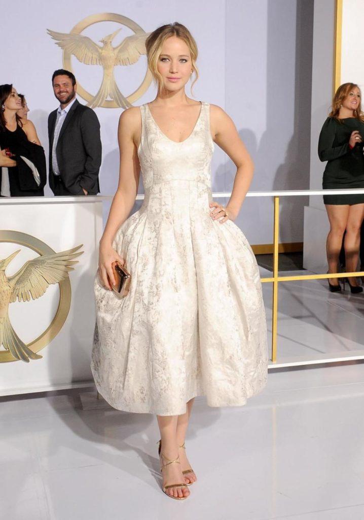 Jennifer Lawrence Feet Photos