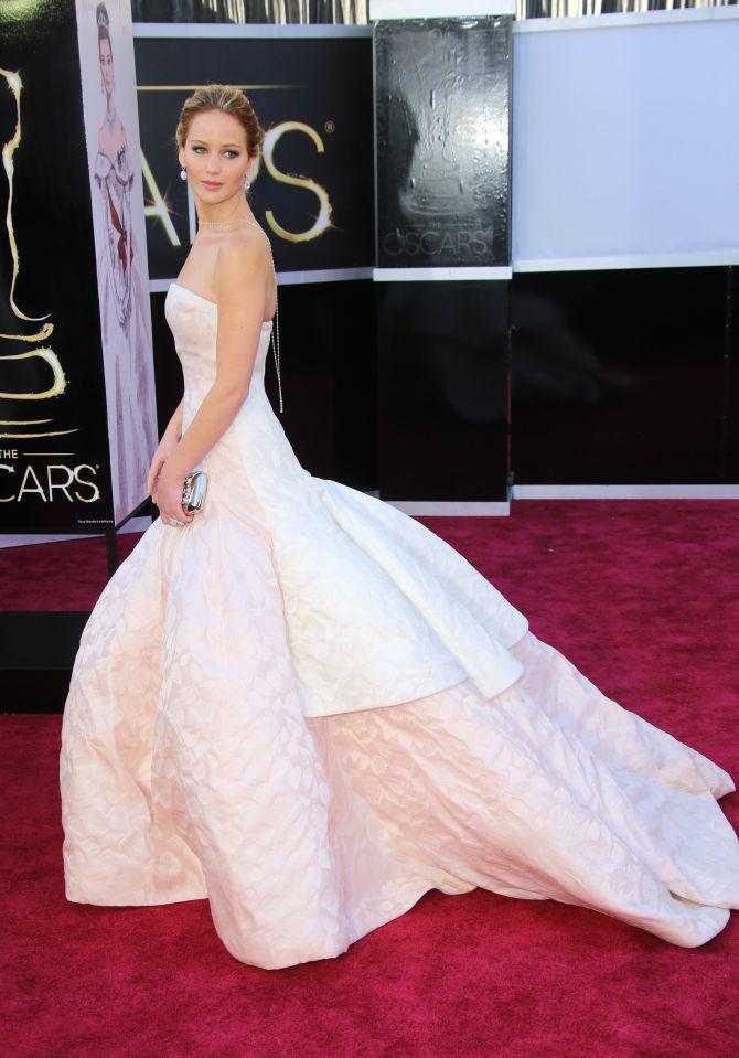 Jennifer Lawrence Makeup Photos