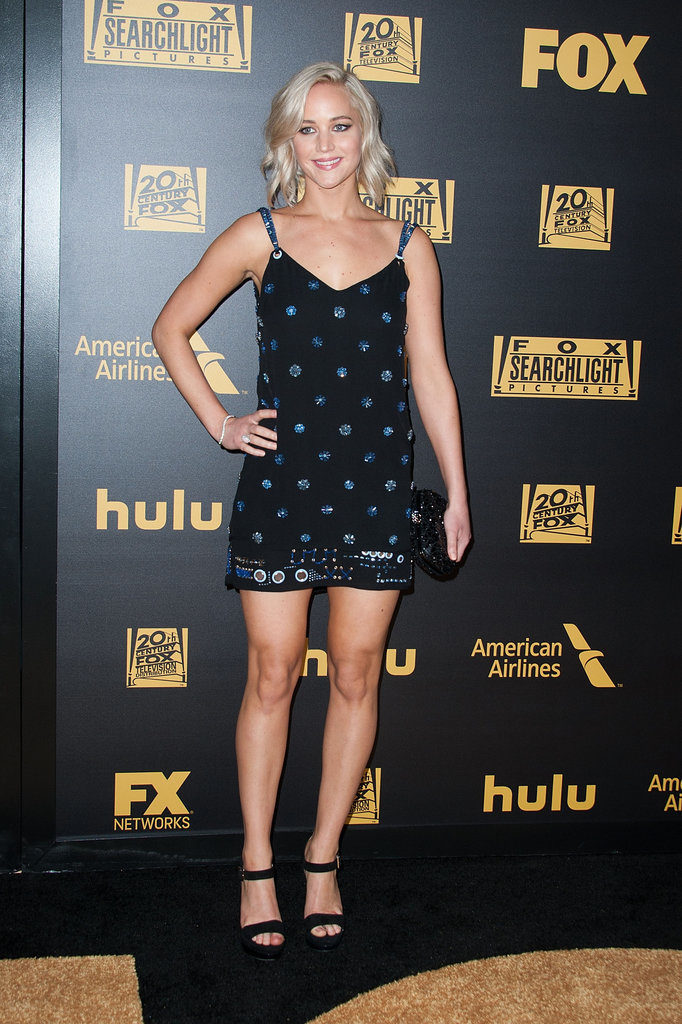 Jennifer Lawrence Thigh Pics