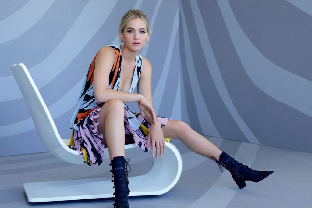 Jennifer Lawrence Thighs Wallpapers