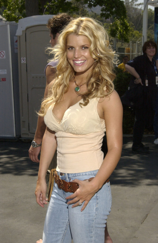 Jessica Simpson Jeans Photoshoots